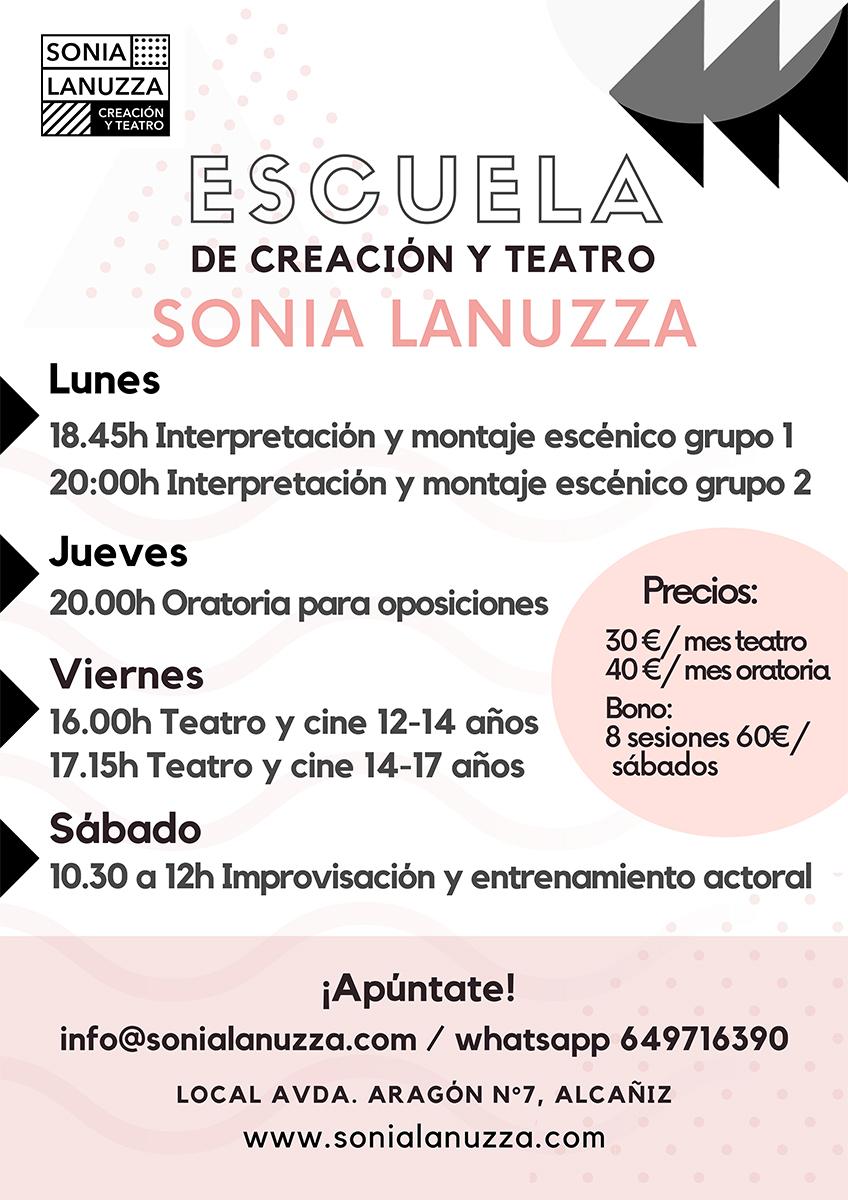 Actividades Teatro Alcaniz 2022